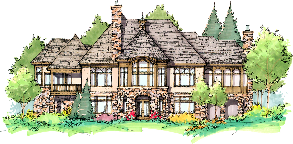 The monarch manor house plan images see photos of don for Monarch homes floor plans