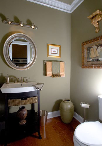 Powder Room of the Larkspur - House Plan Number 715