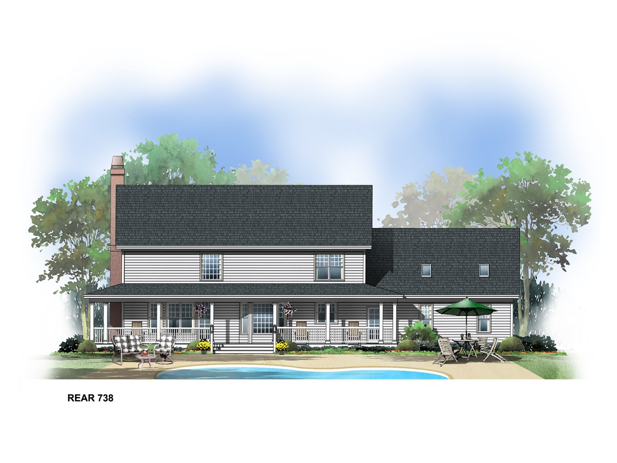 Old homestead house plans home design and style for Homestead home designs