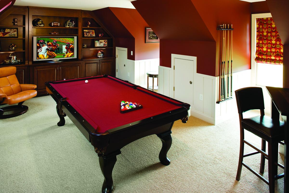 Bonus Room of The Amherst - House Plan Number 753
