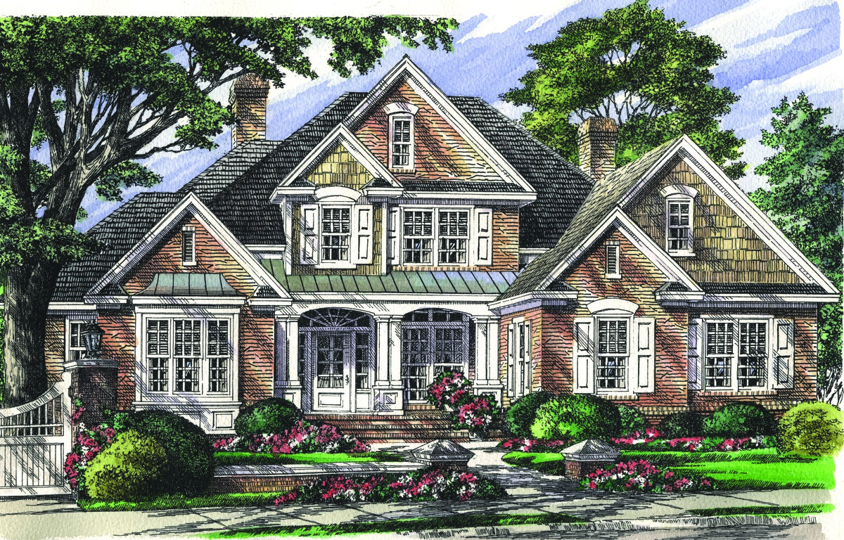 The Haynesworth House Plan Details By Donald A Gardner