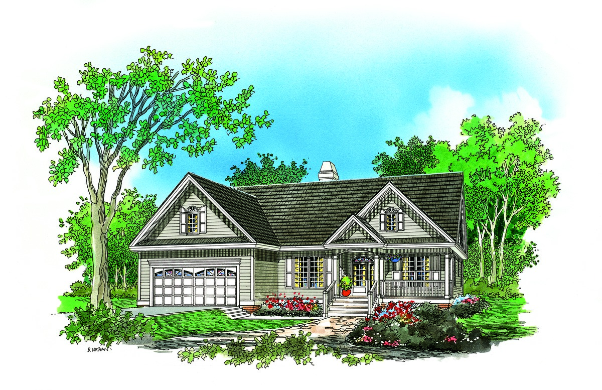 The whitaker house plan details by donald a gardner for Don gardner small house plans