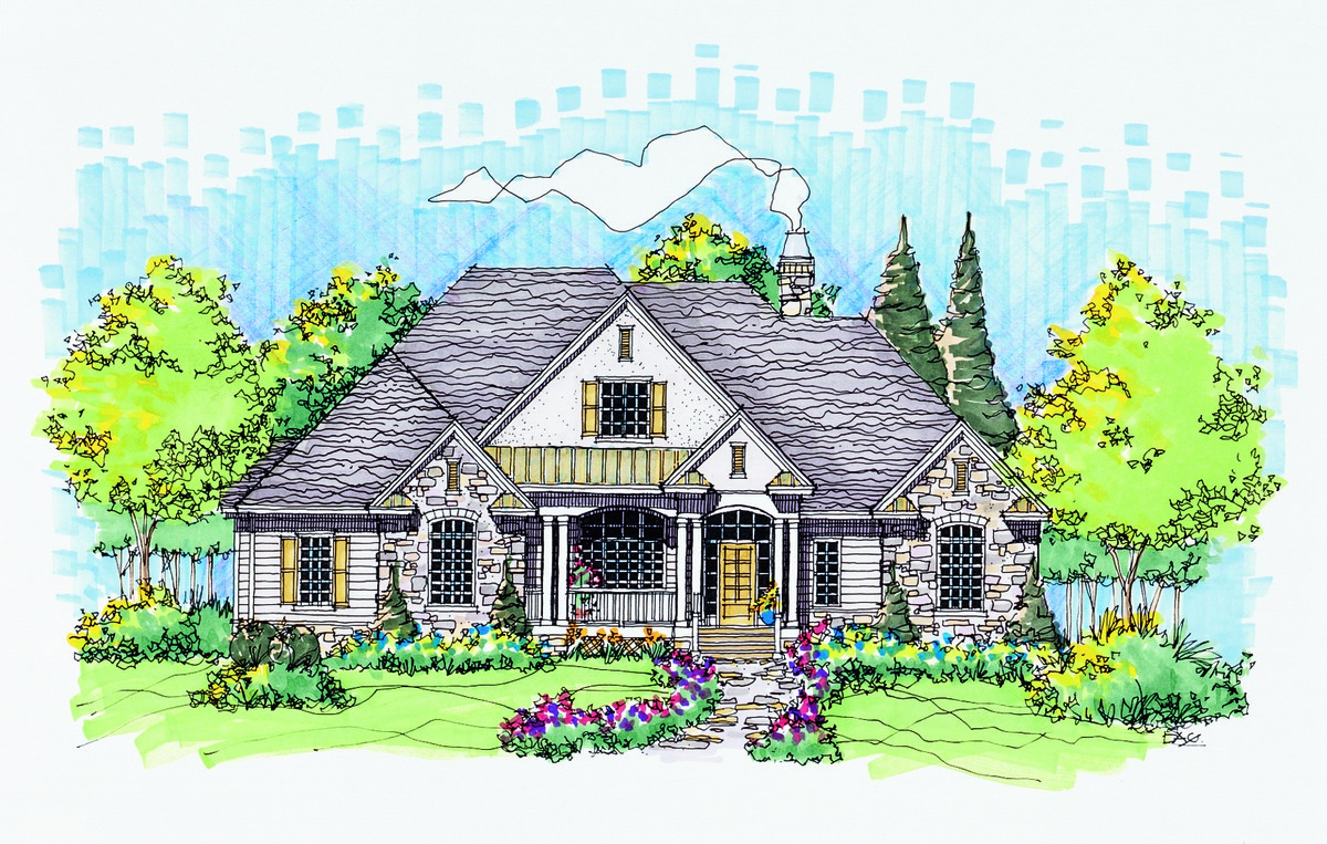 The MacAllaster - House Plan Number 838