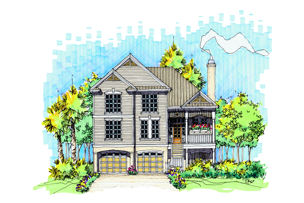 The tidewater house plan images see photos of don for Tidewater house plans