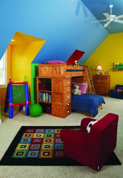 Bonus Room of The Churchdown - House Plan Number 867
