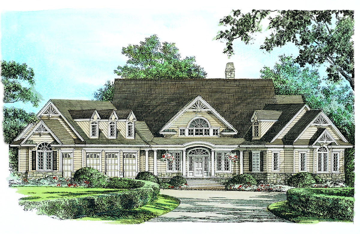 The steeplechase house plan details by donald a gardner for Home plan architects