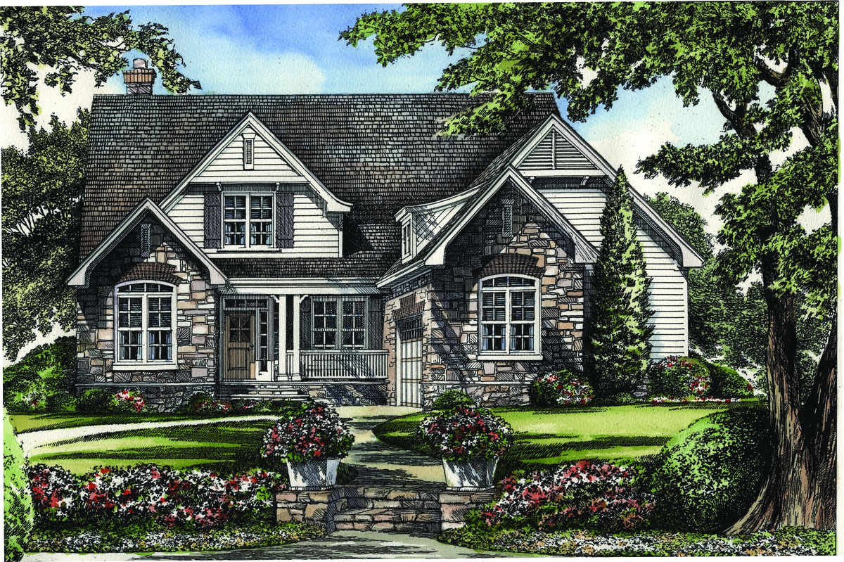 The greystone house plan details by donald a gardner for Greystone homes floor plans