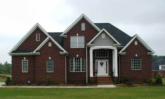 The Luxembourg - Two Story House Plan 979