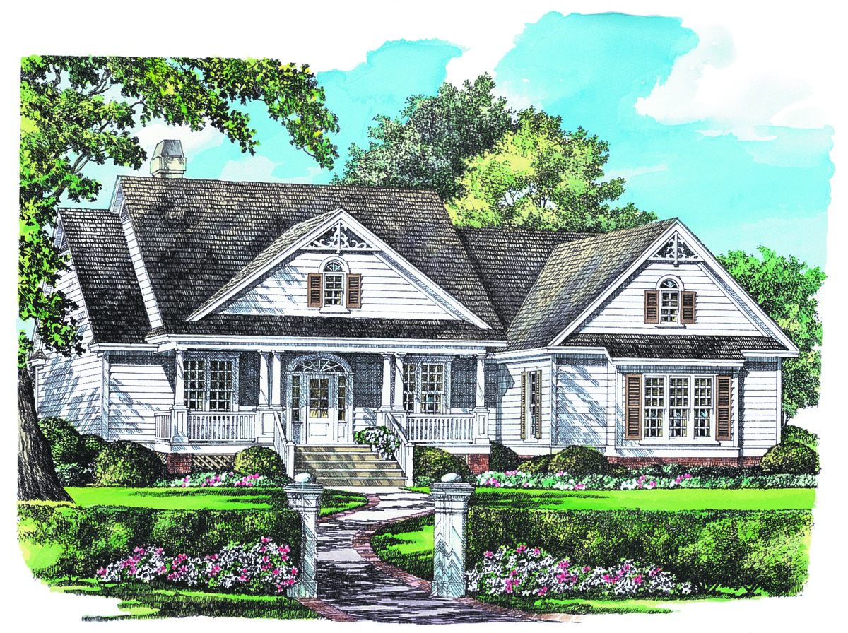 Ranch Style Home Plans Home Designs Donald A Gardner