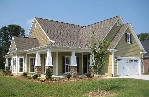 The Jonesboro - Narrow Farmhouse Plan 983