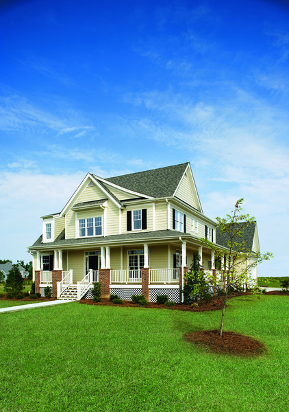 Hues of Green: The Trotterville - House Design #984