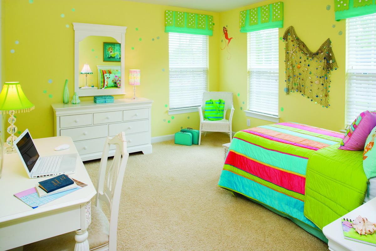 Kid's Bedroom of The Heywood House Plan 991: De-Clutter