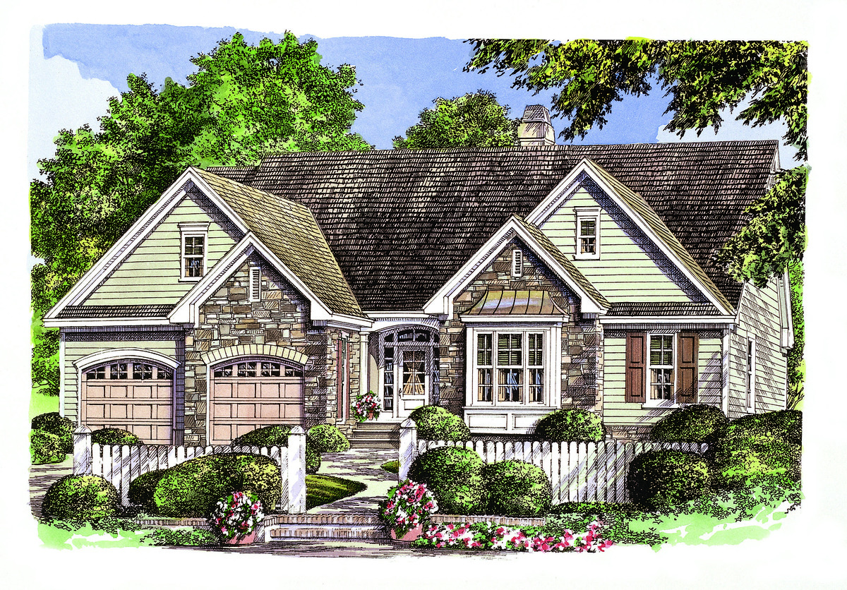 The Irby - House Plan Number 993: Showcasing Mountain Styling