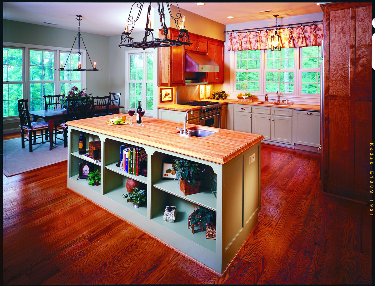 Kitchen Of The Sable Ridge House Plan Number 710 D